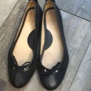 Coach size 9.5 ballet letter and canvas shoes